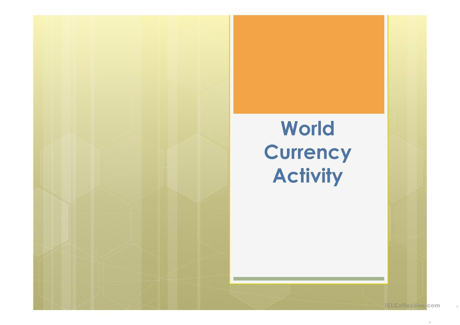 World Currency Chart Images