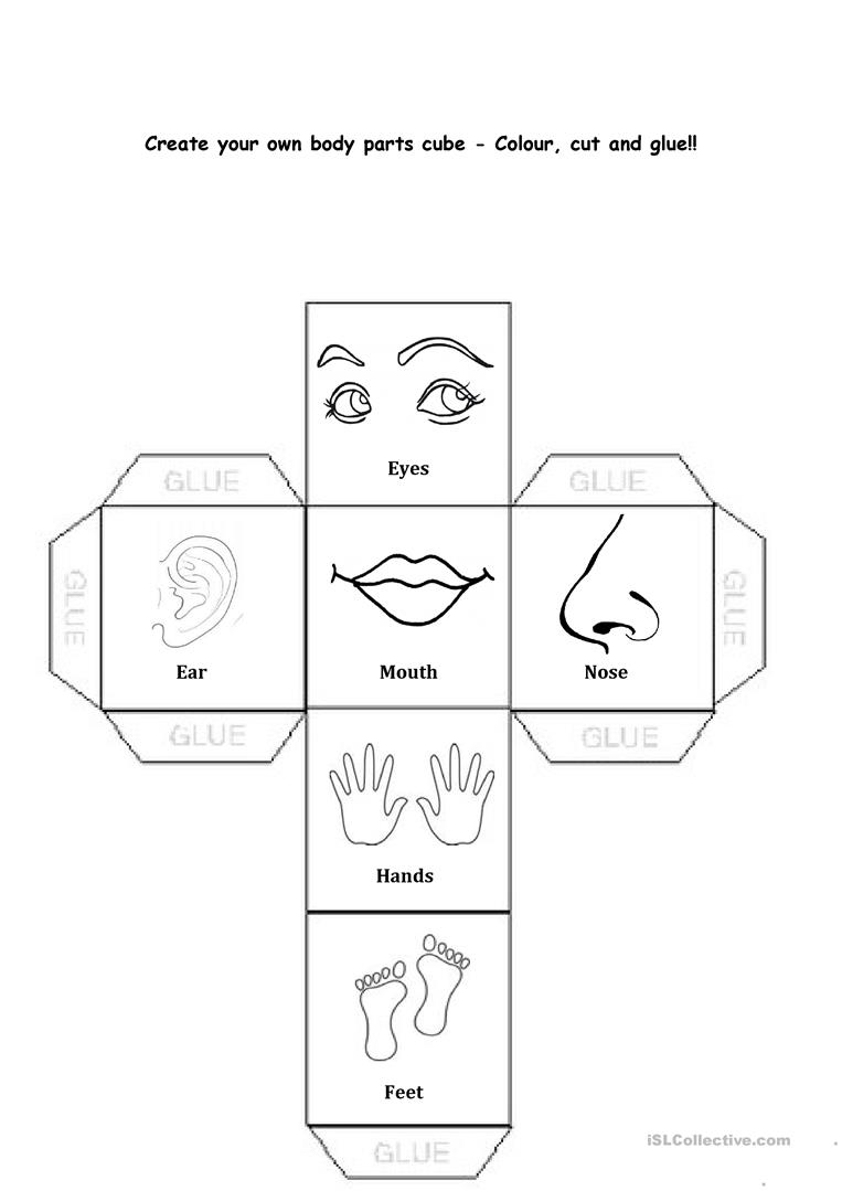 Body Parts English Esl Worksheets For Distance Learning And Physical Classrooms