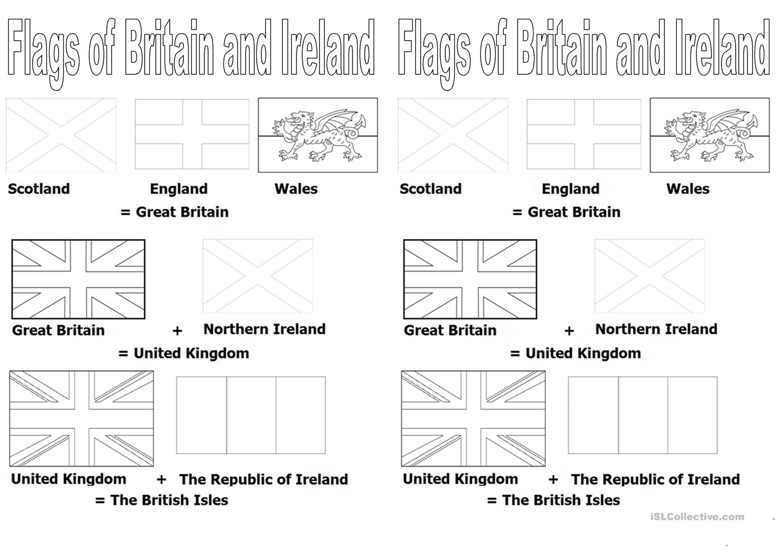 Uk England British Isles Map Flag