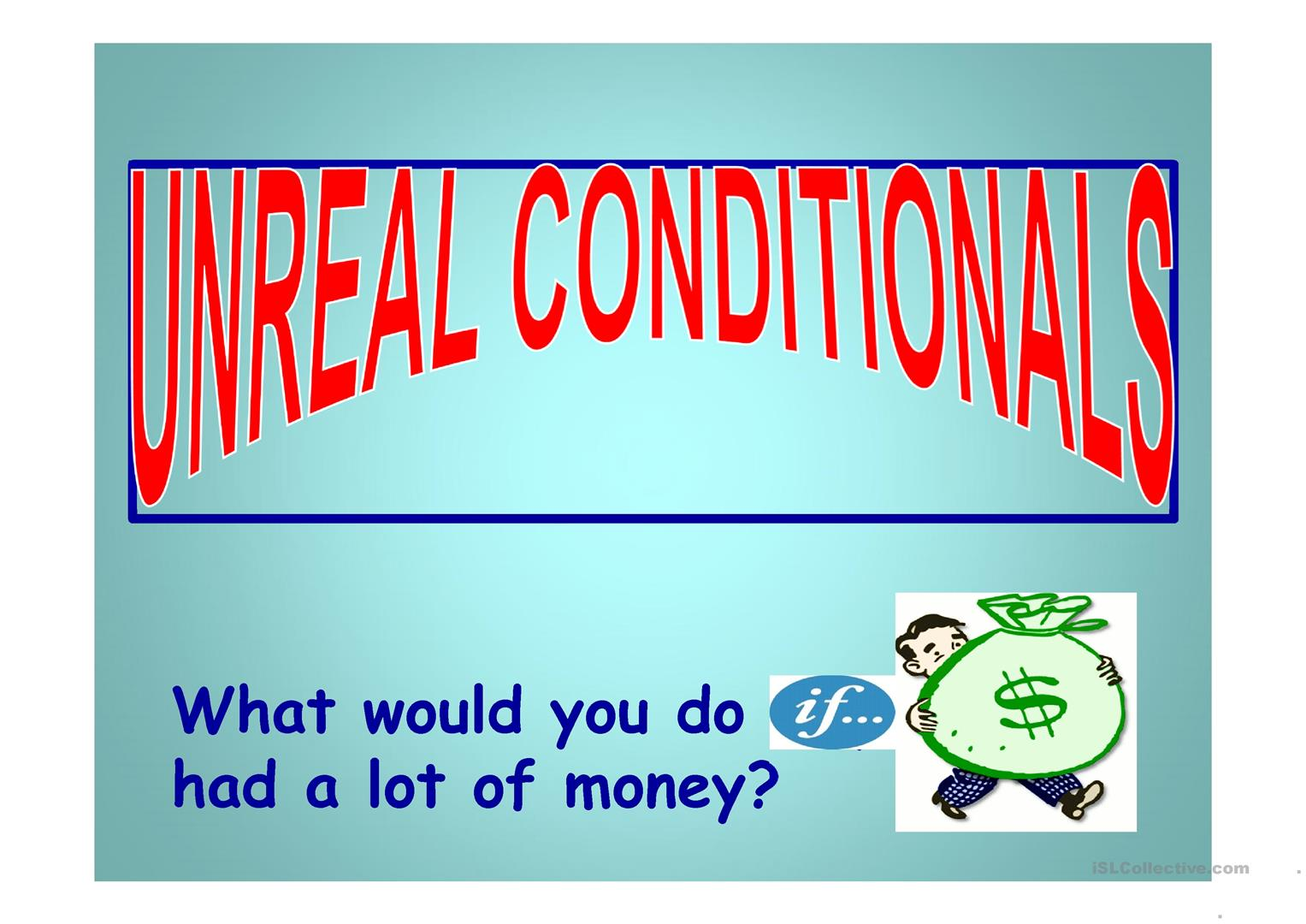 Second Conditional Worksheet