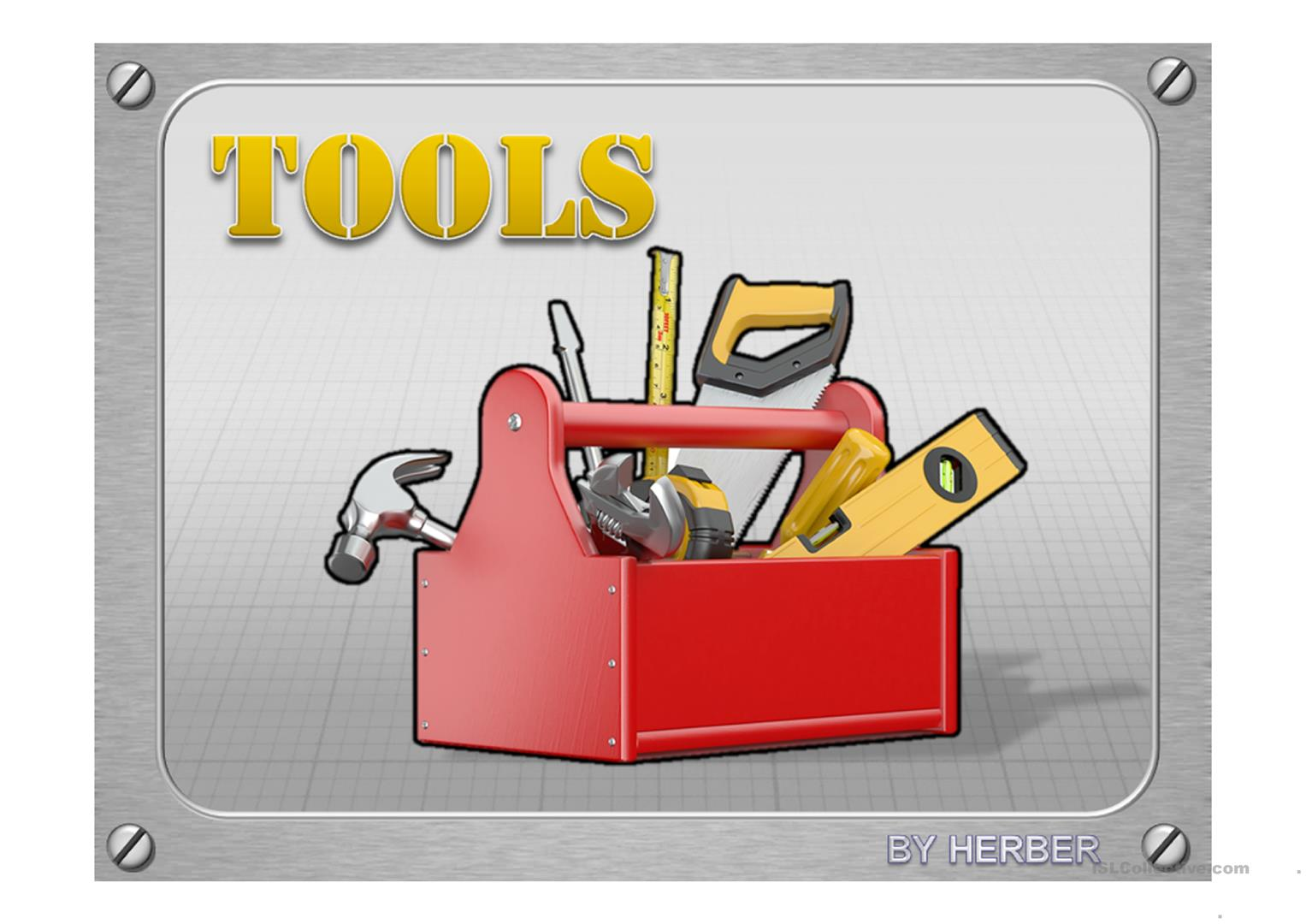 Tools Ppt Worksheet
