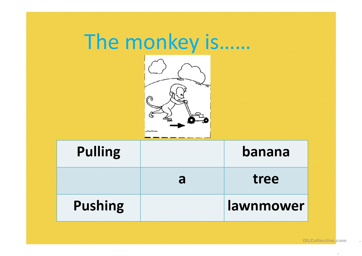 Forces Pull And Push Worksheet