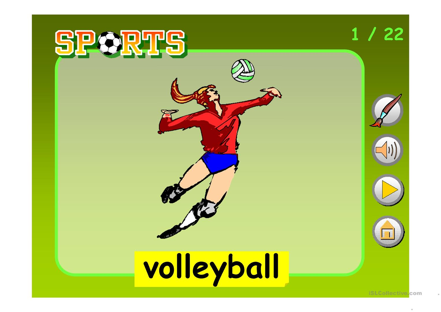 Sports Amp Competitions Ppt Worksheet