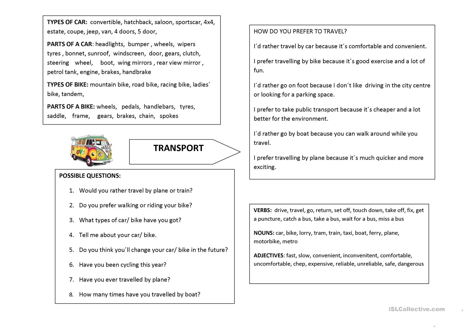 Vocab Worksheet Year 6