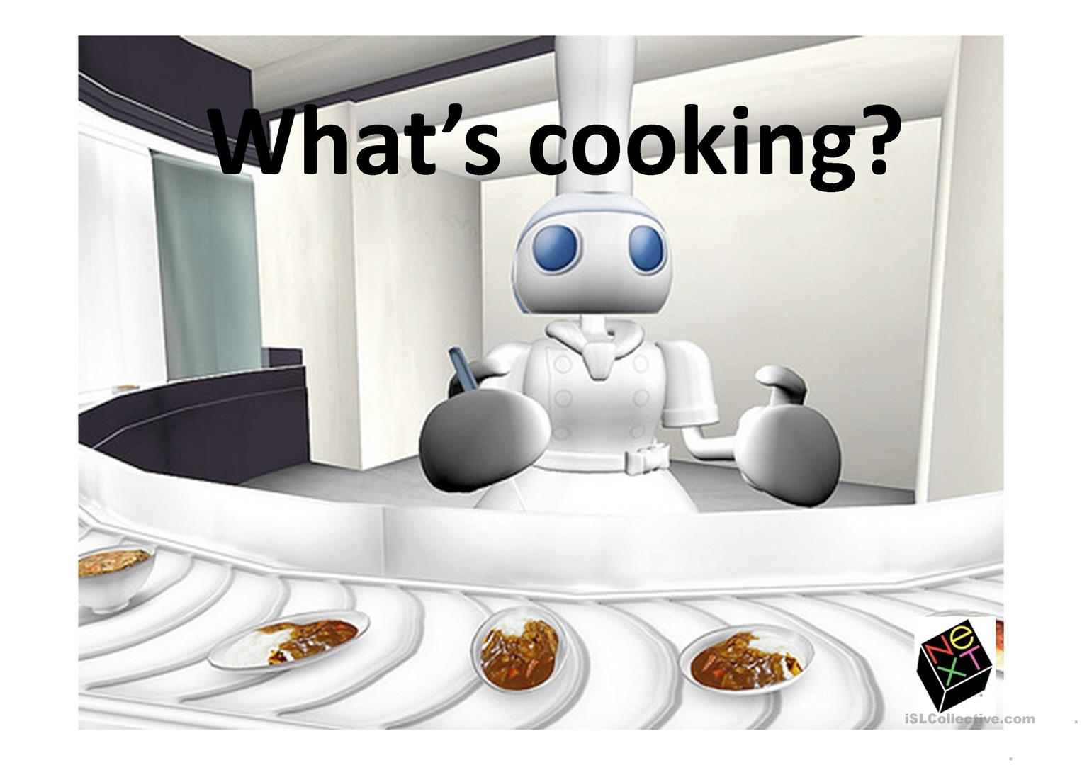What S Cooking Ppt Game Worksheet