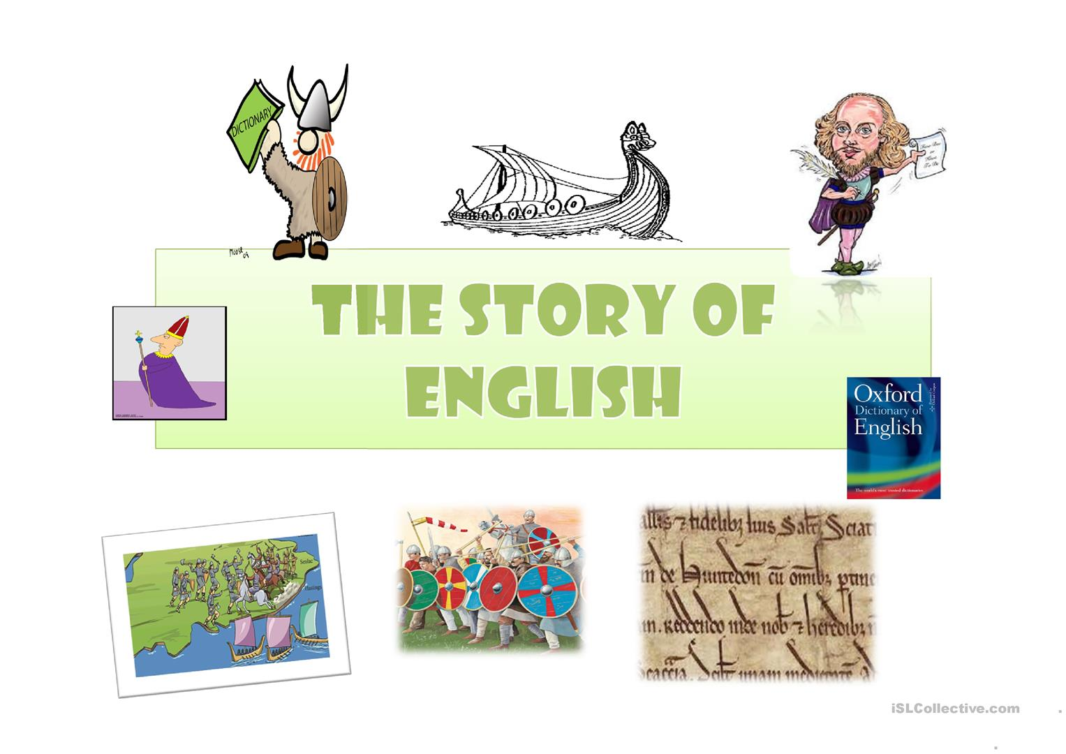 Short History Of English Language Worksheet