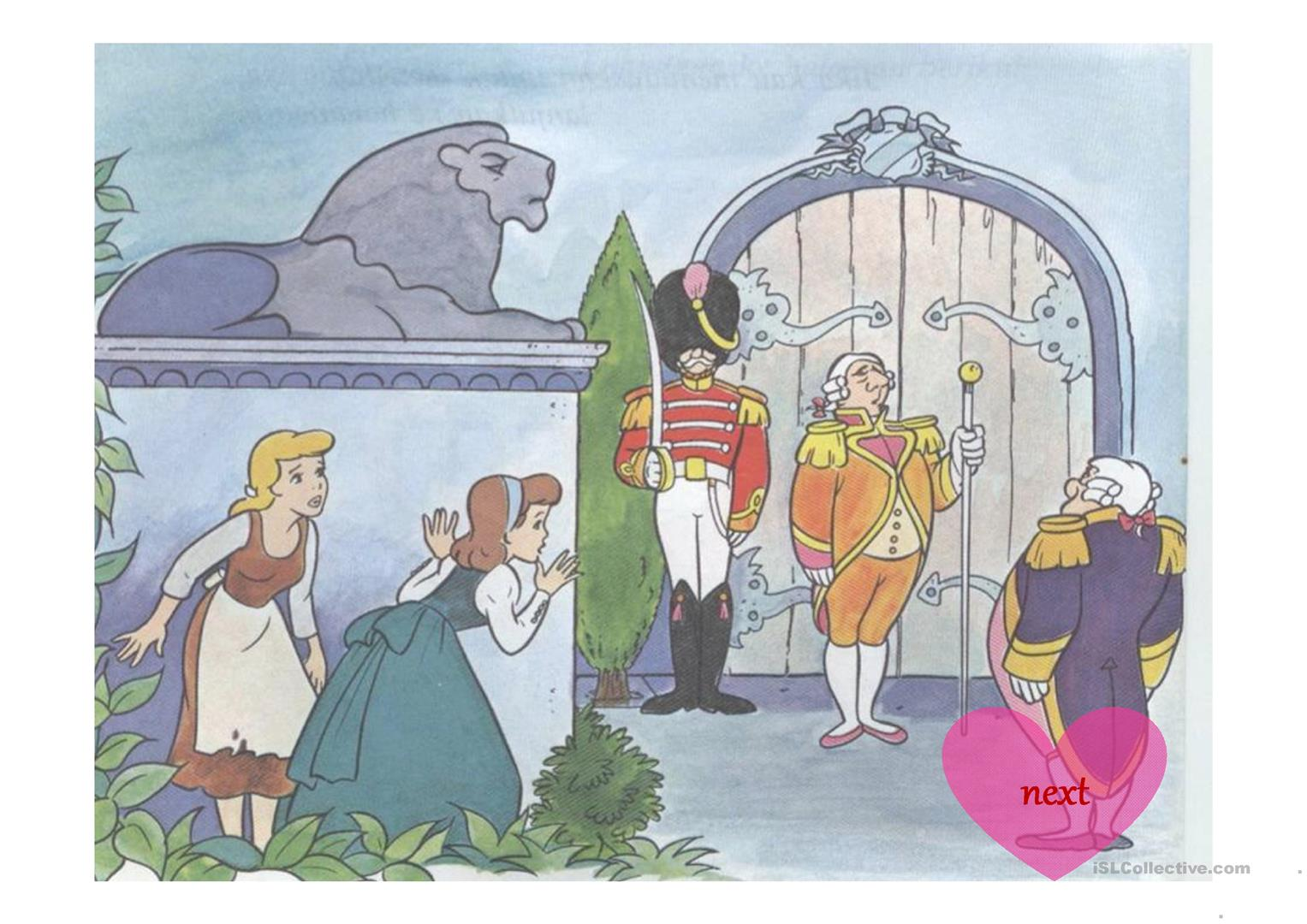 Story Of Cinderella And You Worksheet