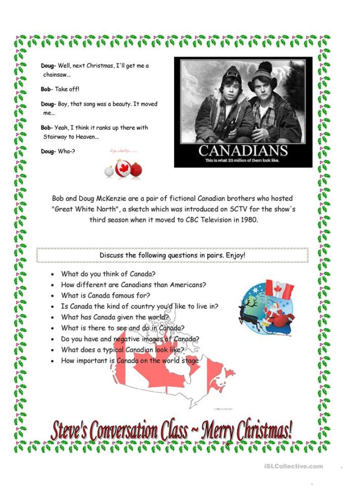 great white north 12 days of christmas