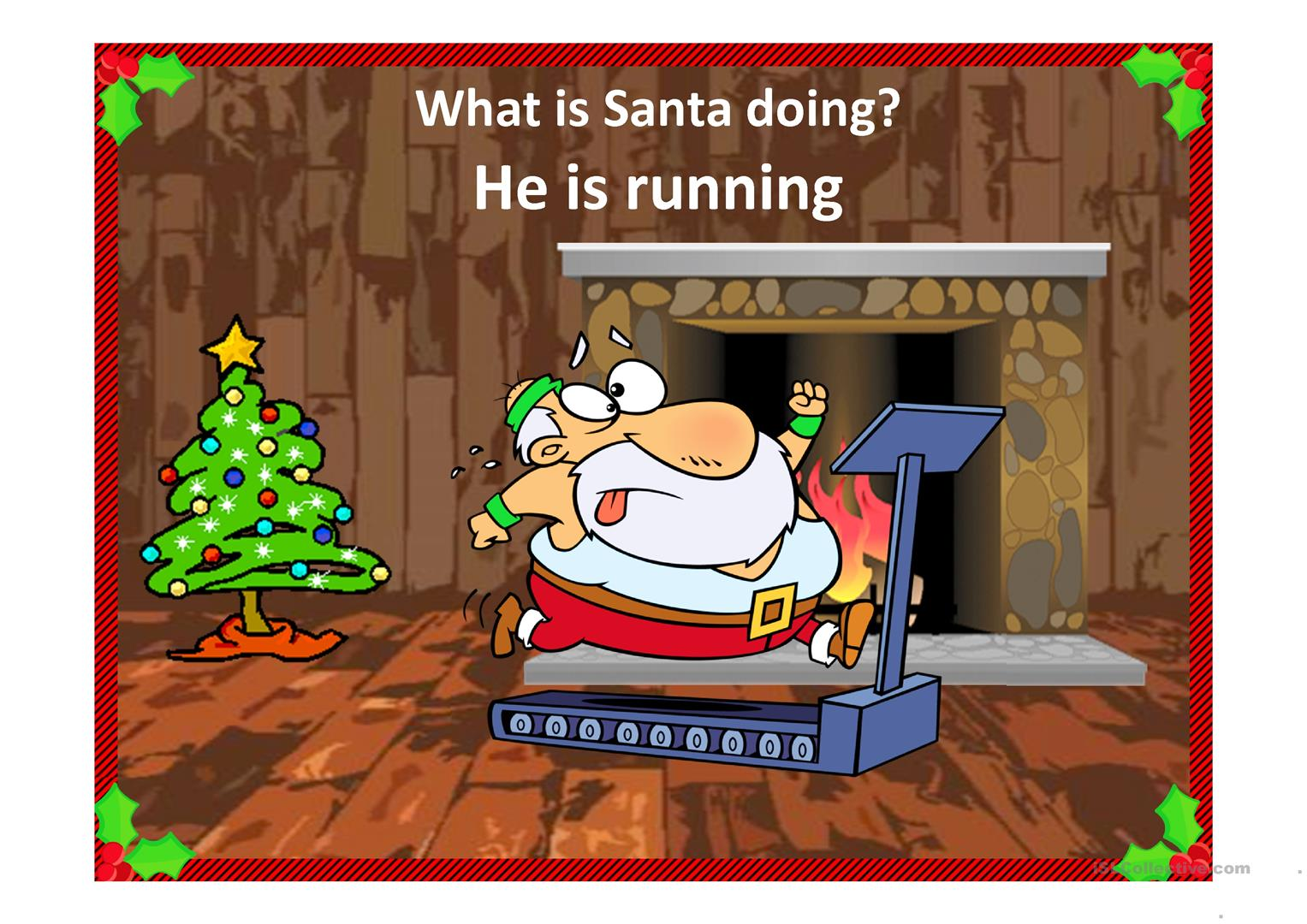 Busy Santa Worksheet