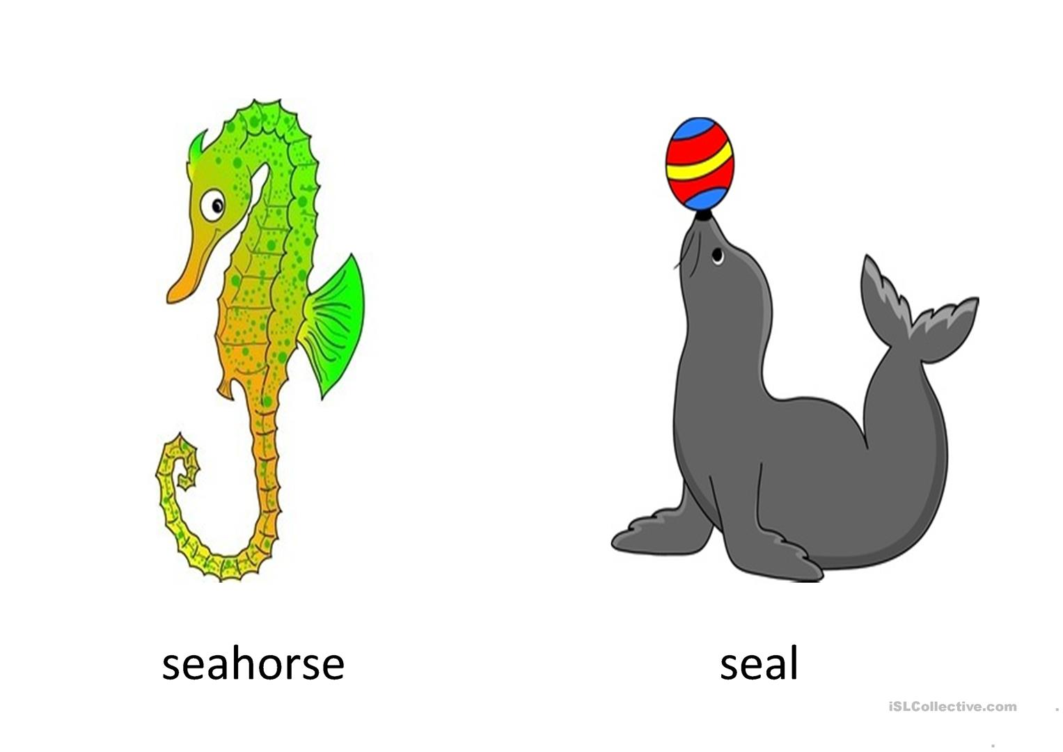 Under The Sea Worksheet
