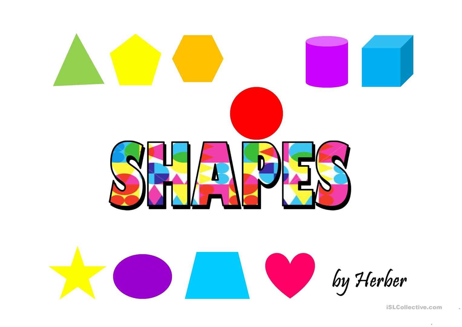 Animated Shapes Worksheet