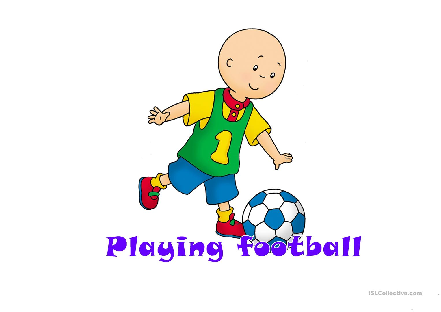 Caillou Worksheet