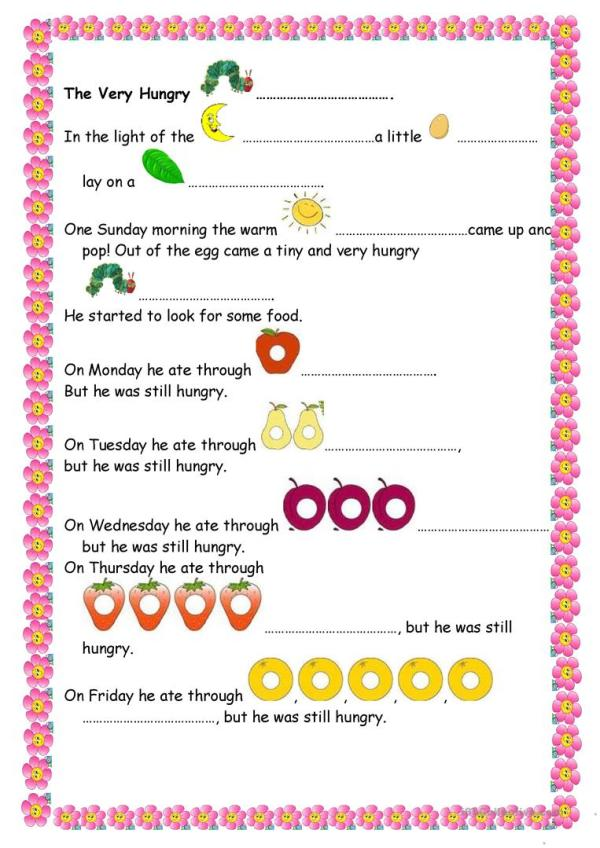 the very hungry caterpillar text # 10