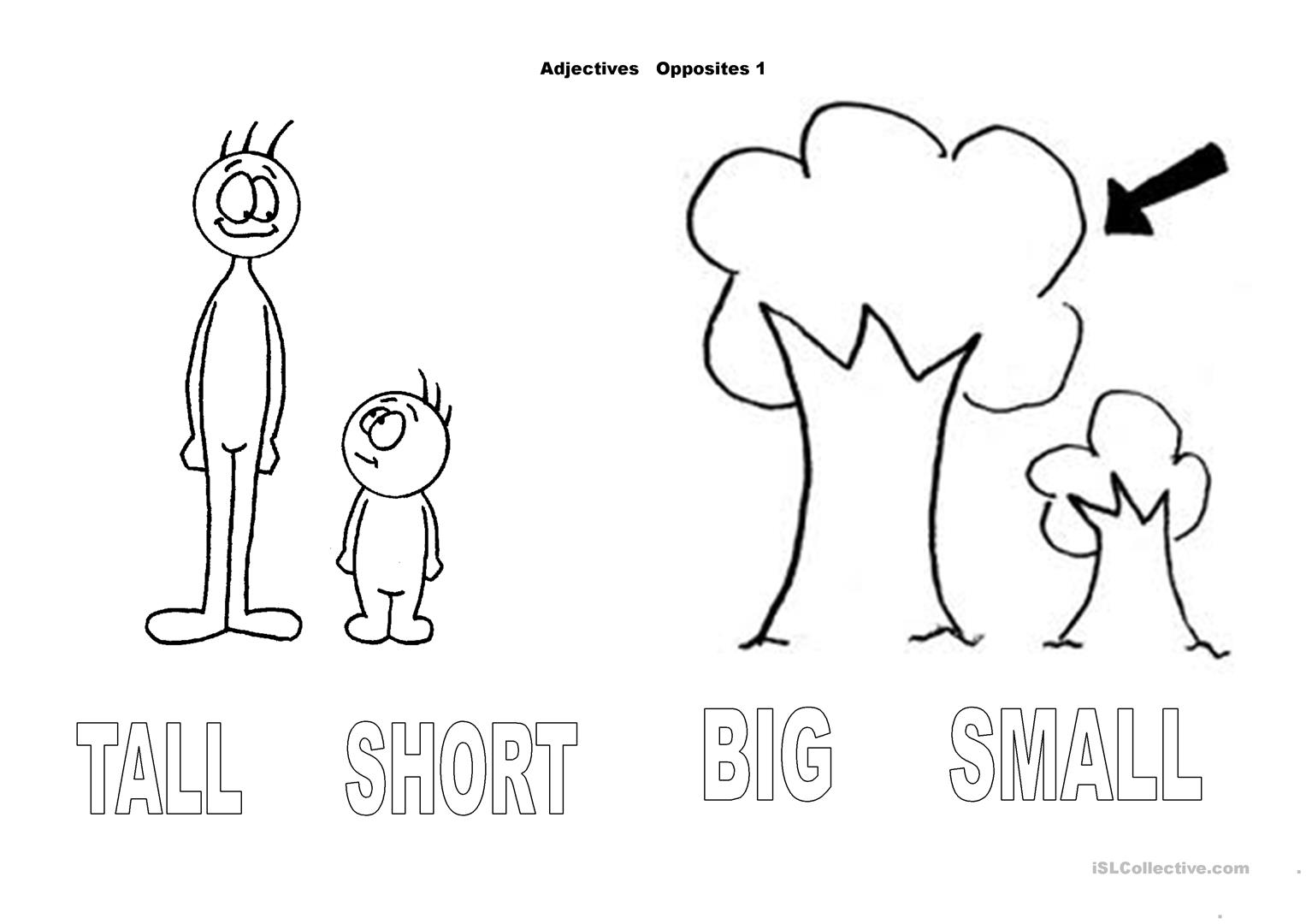 Adjectives Opposites 1