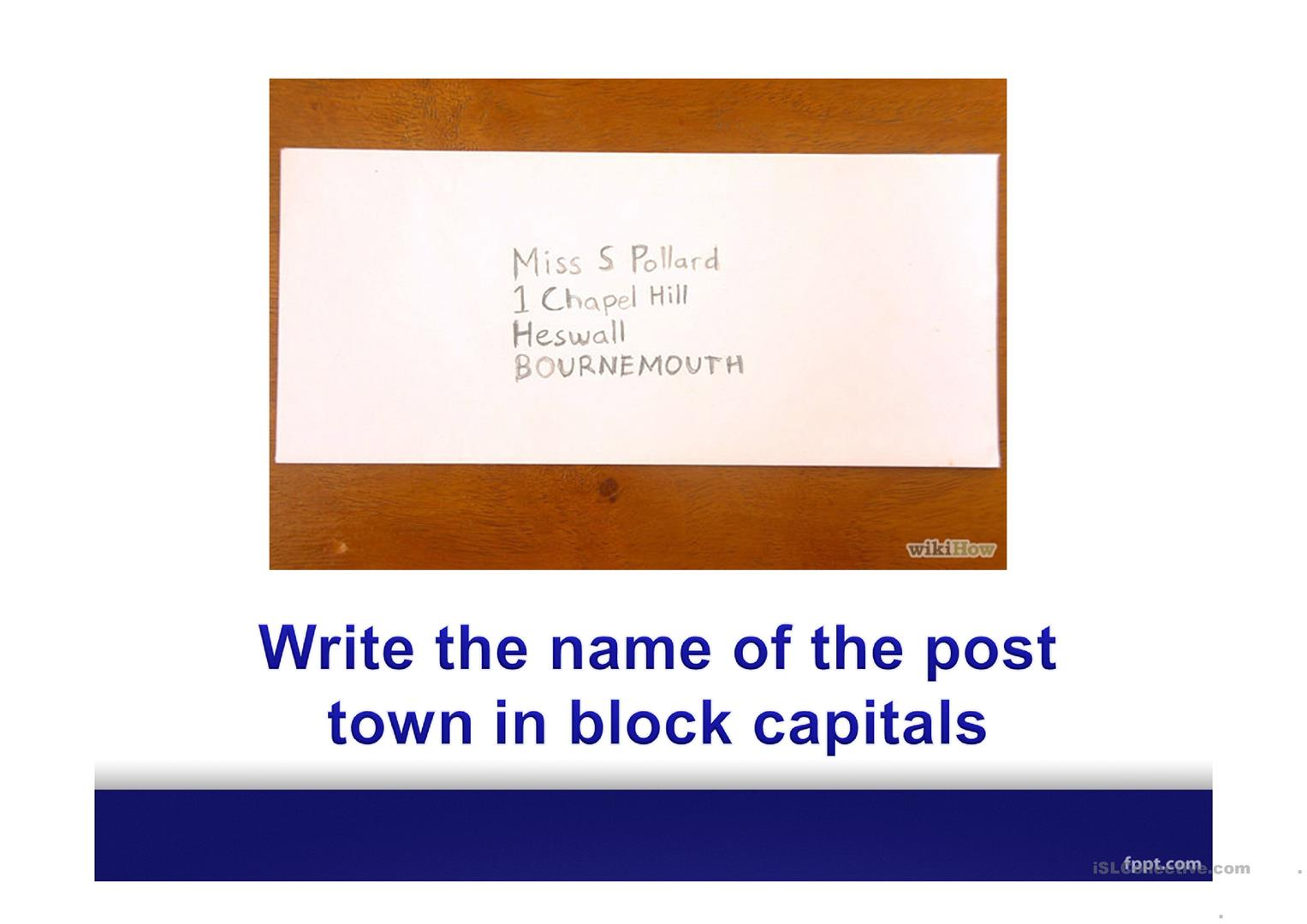 How To Put An Address On An Envelope