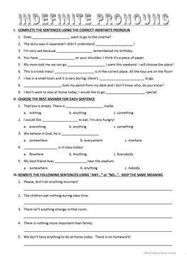 8 Free Esl Some Or Any Worksheets For Upper Intermediate