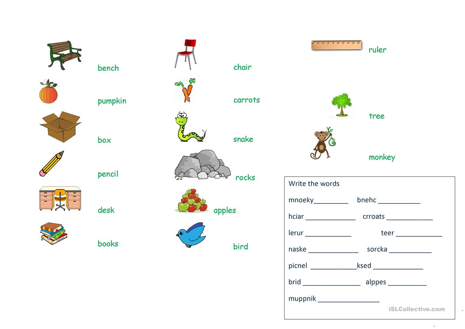 A Object Of Preposition Worksheet