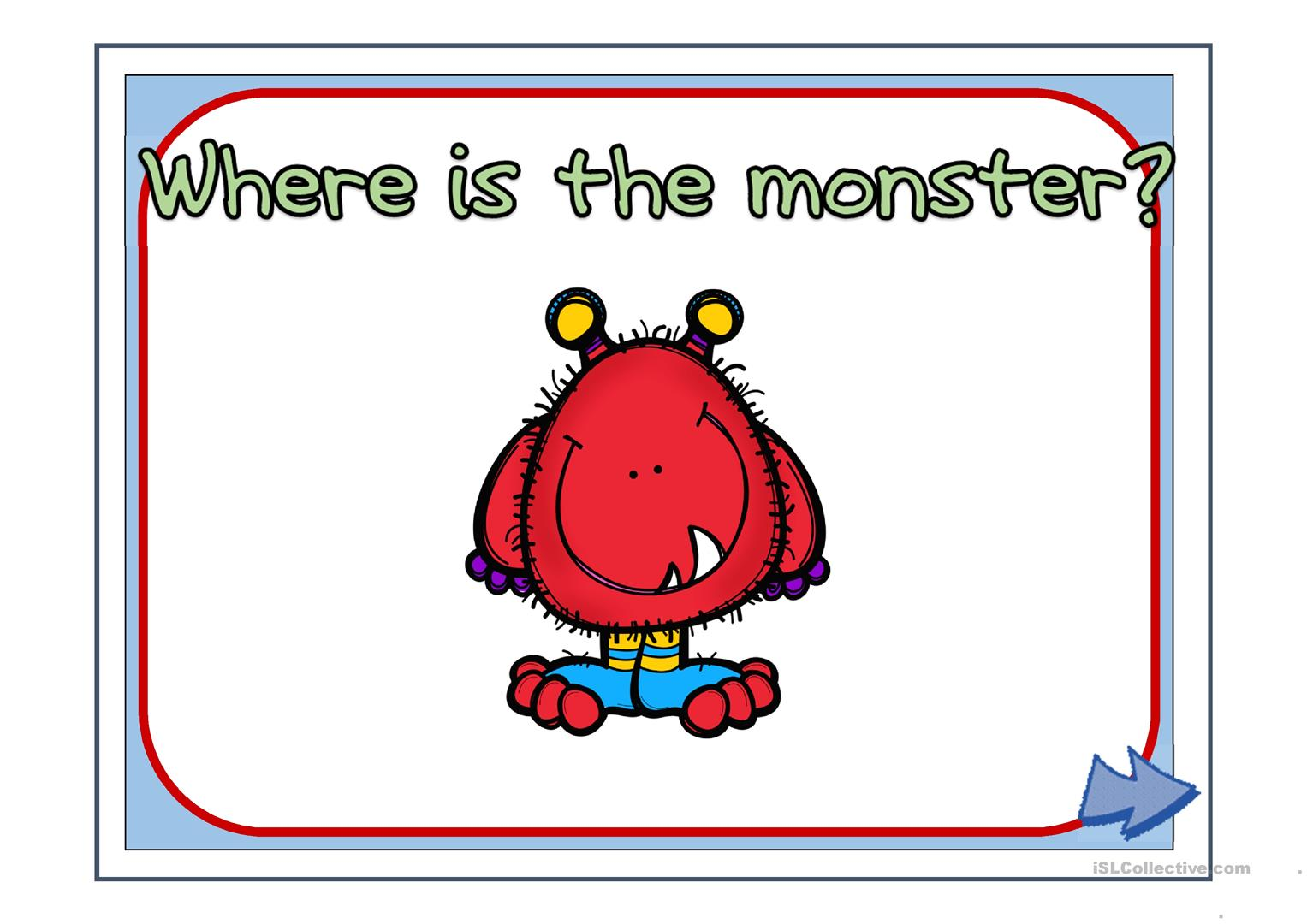 Where Is The Monster Ppt