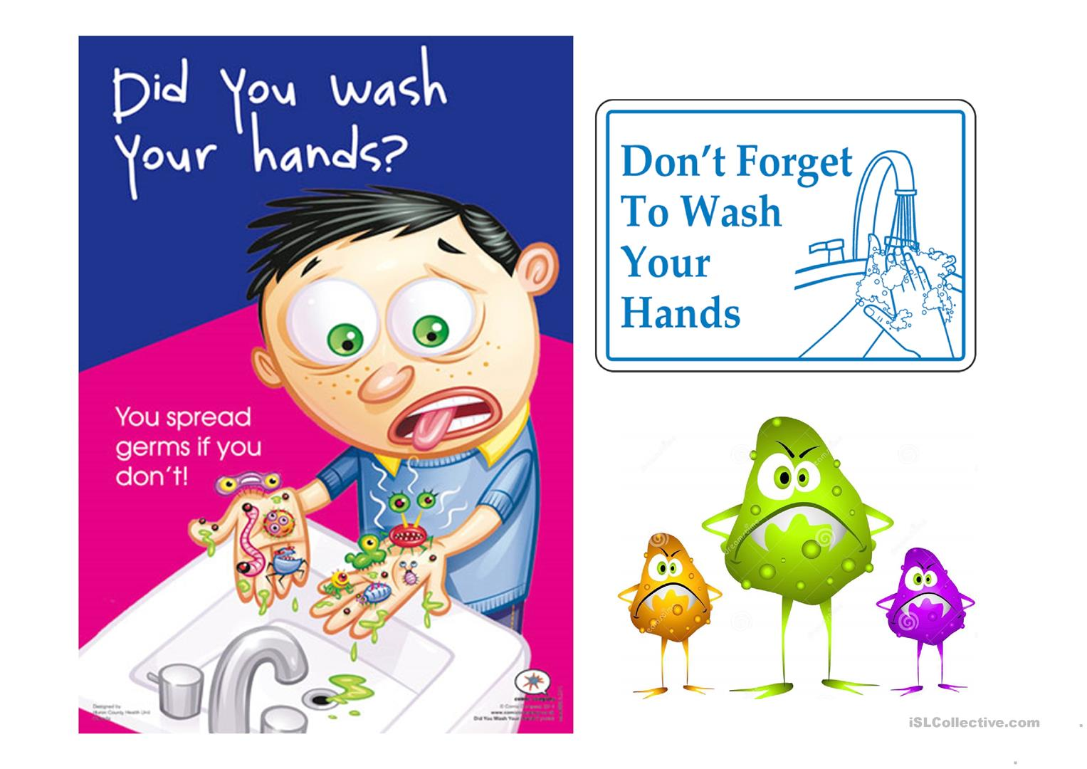 Do People Wash Their Hands Worksheet