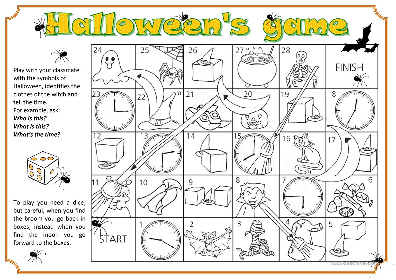 Halloween Fun Worksheet