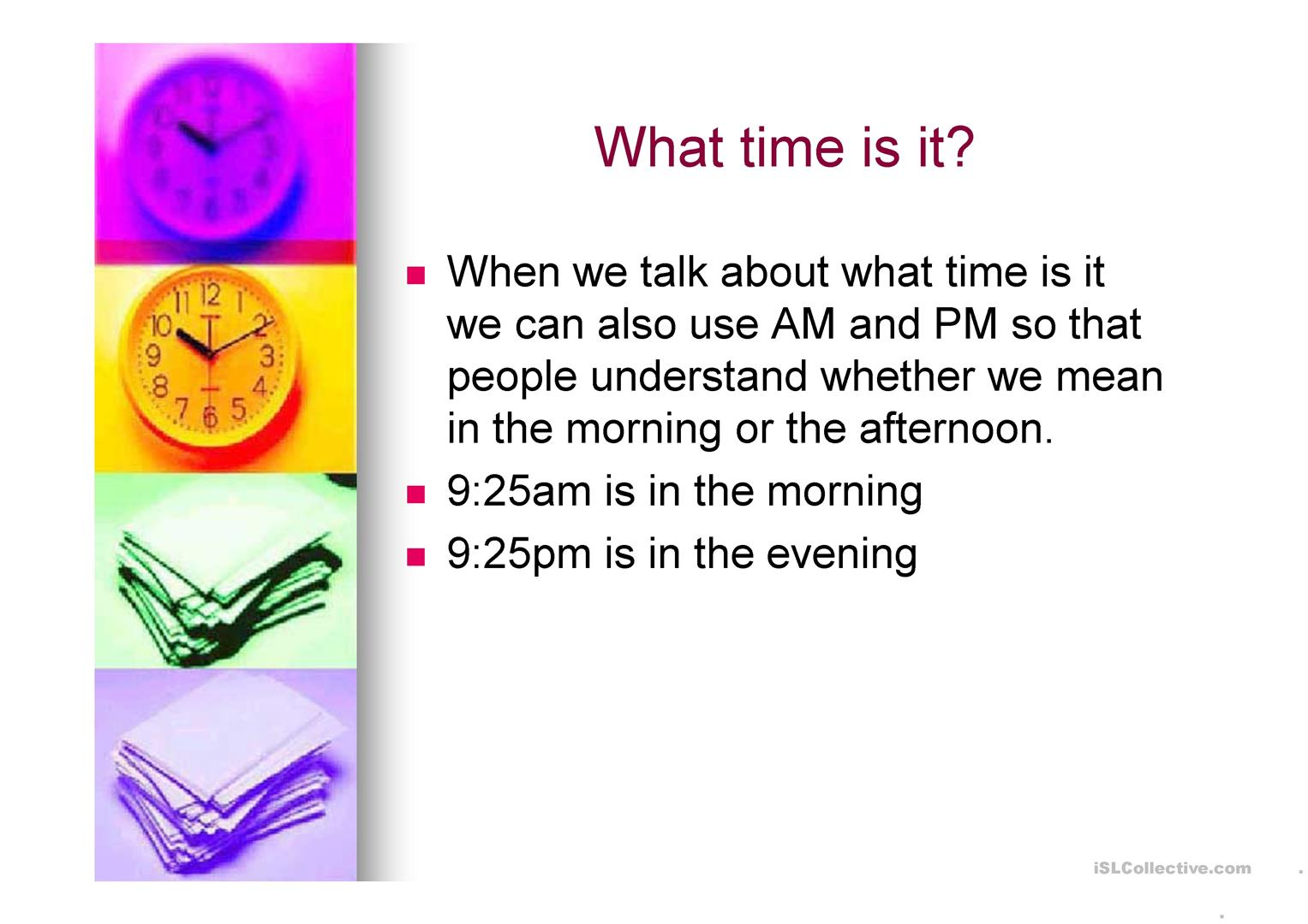 The 24 Hour Clock Revised Copy