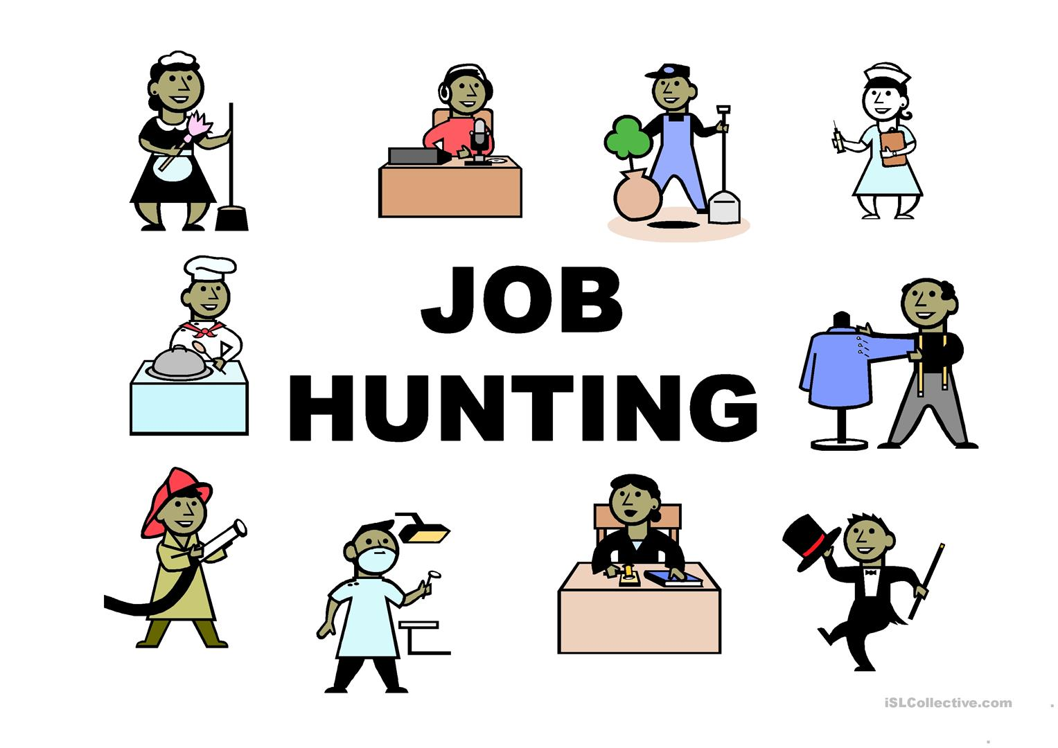 Job Hunting Worksheet