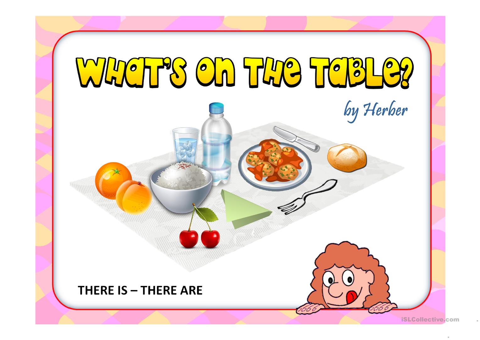 What S On The Table Worksheet