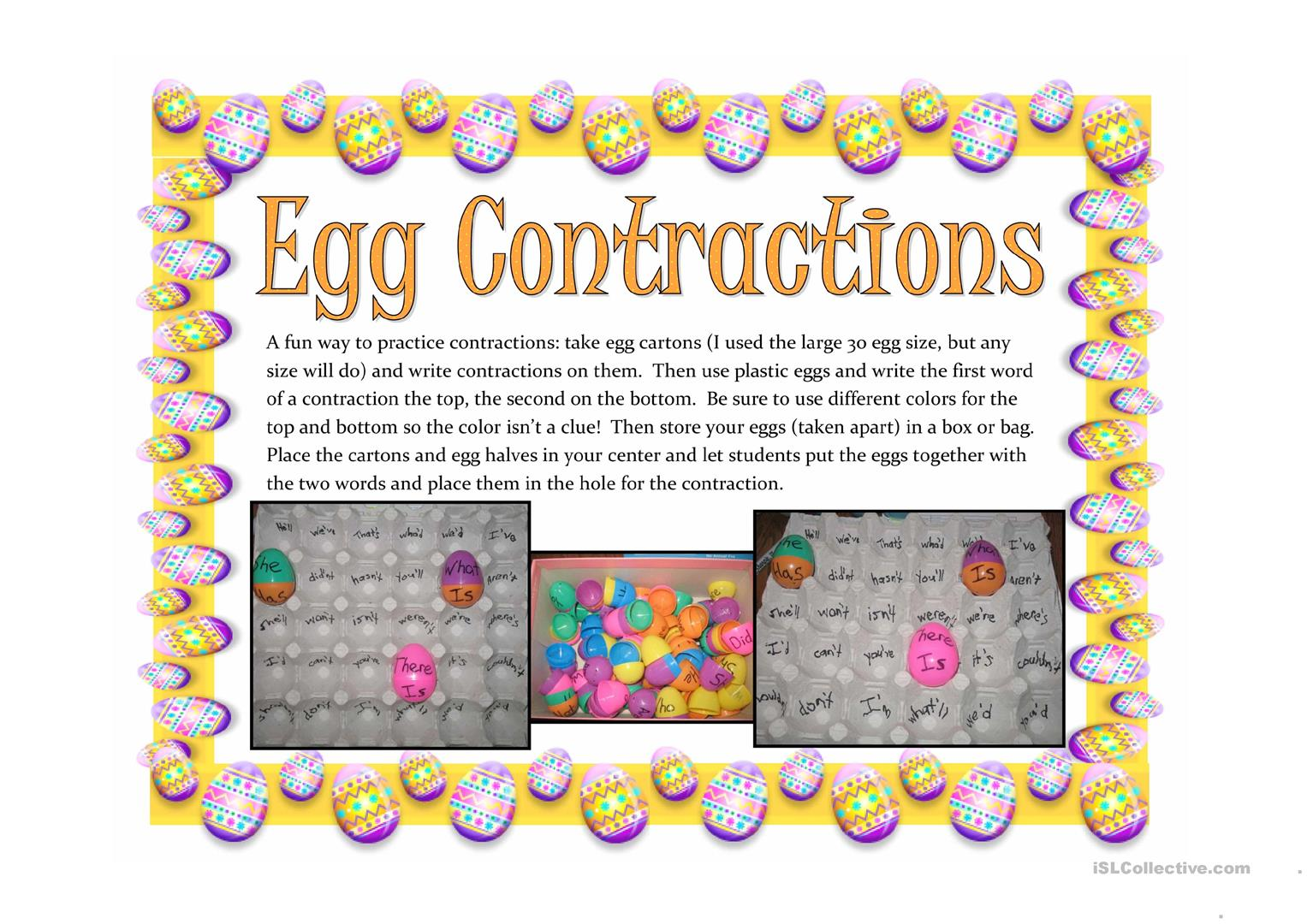 Contraction Eggs