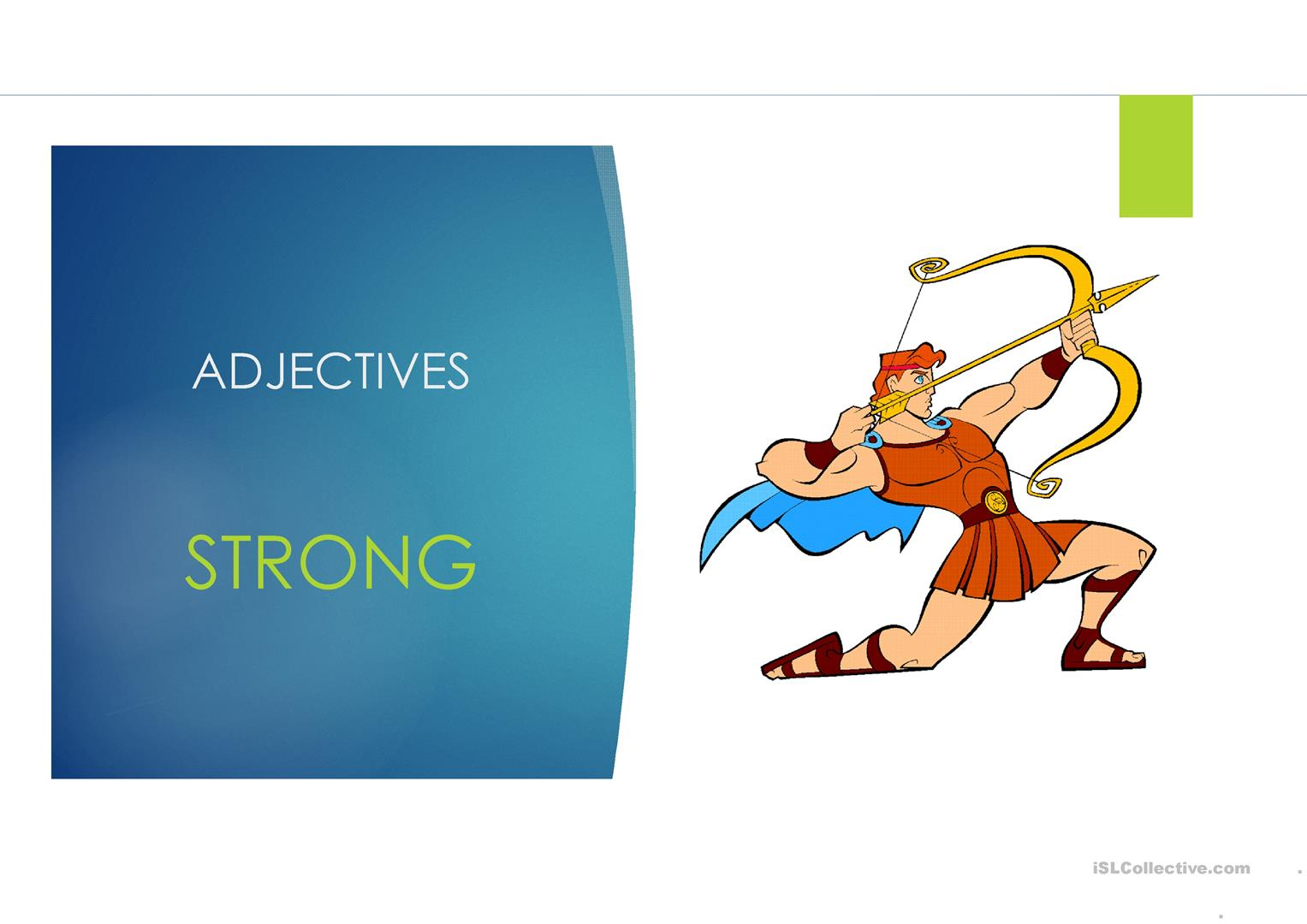 Adjectives And Comparatives Ppt Worksheet