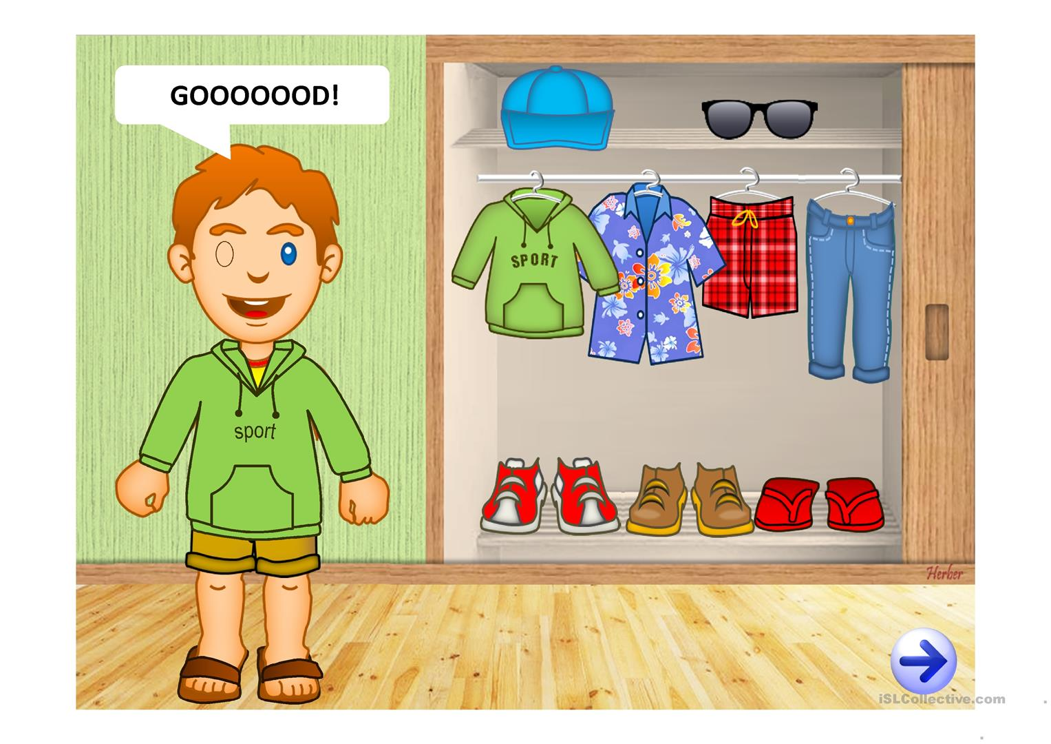 Get Dressed Clothes Worksheet