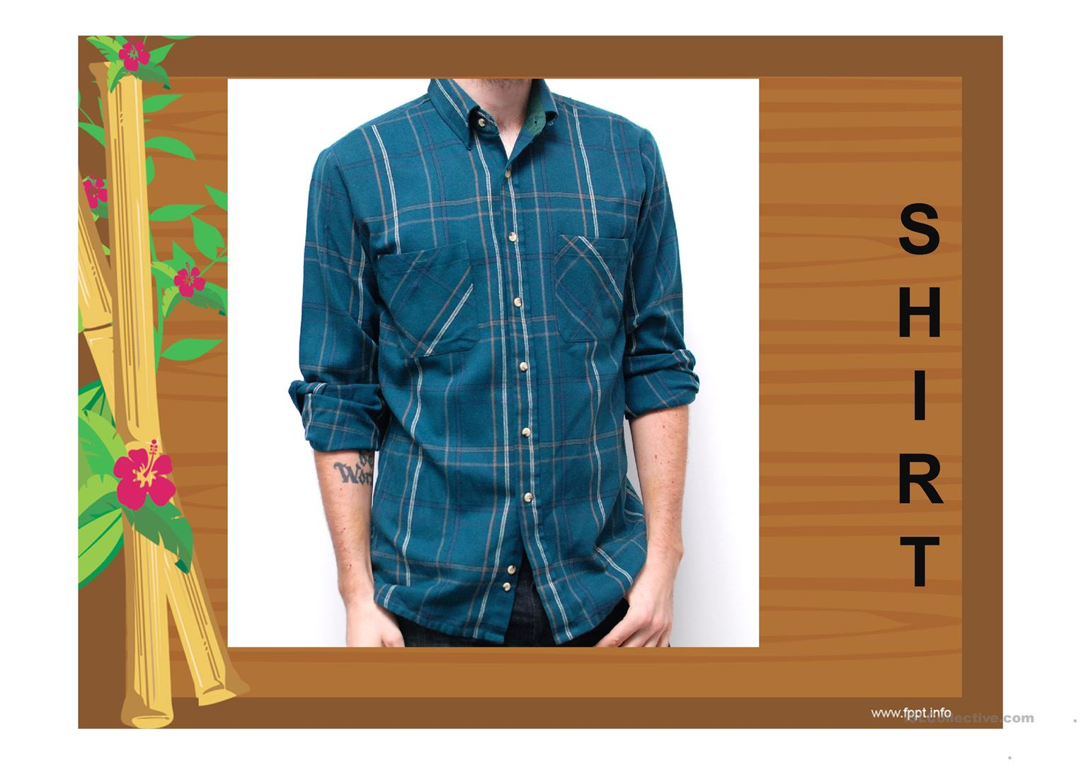 Clothes Guess The Name Worksheet