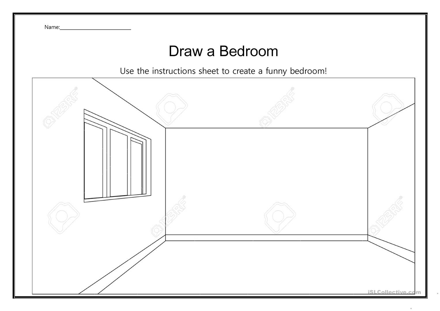 Draw A Crazy Bedroom