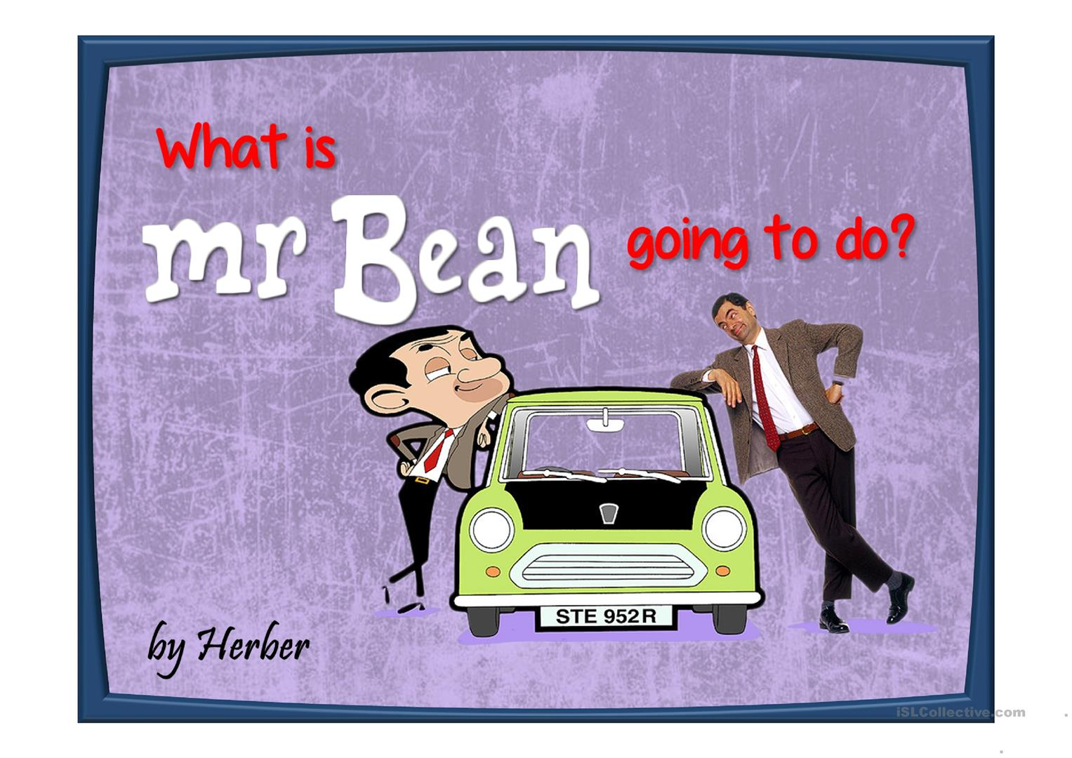 What Is Mr Bean Going To Do