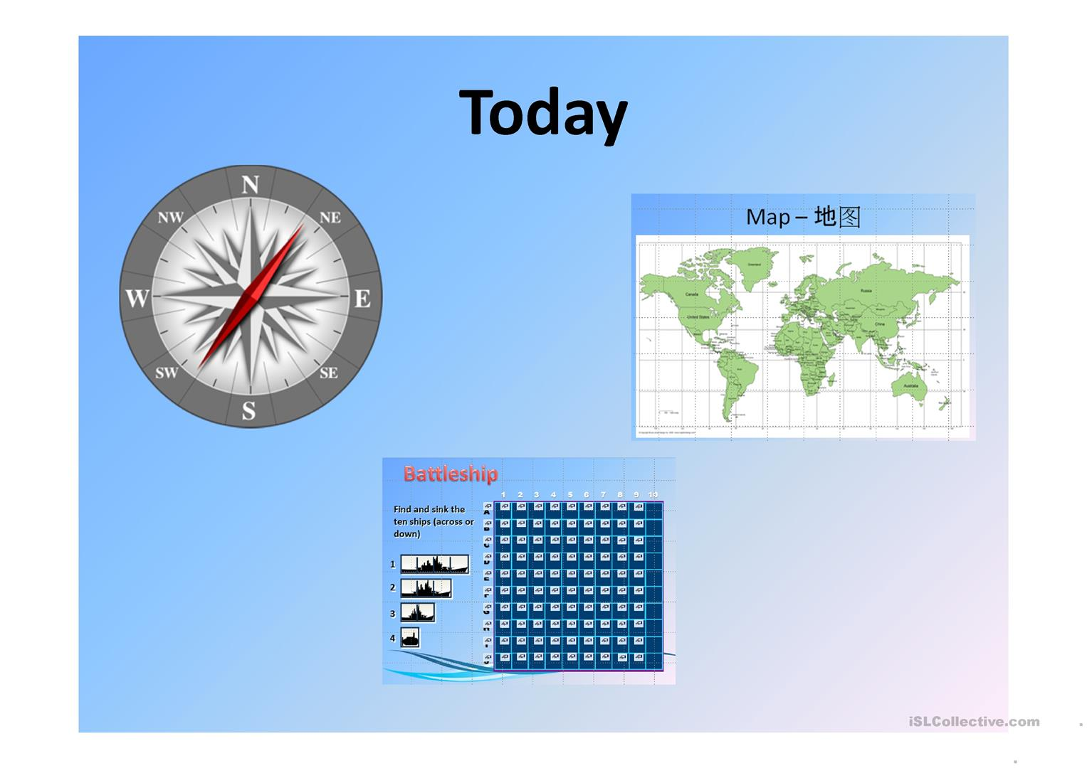 Compass Points With Battleships Game