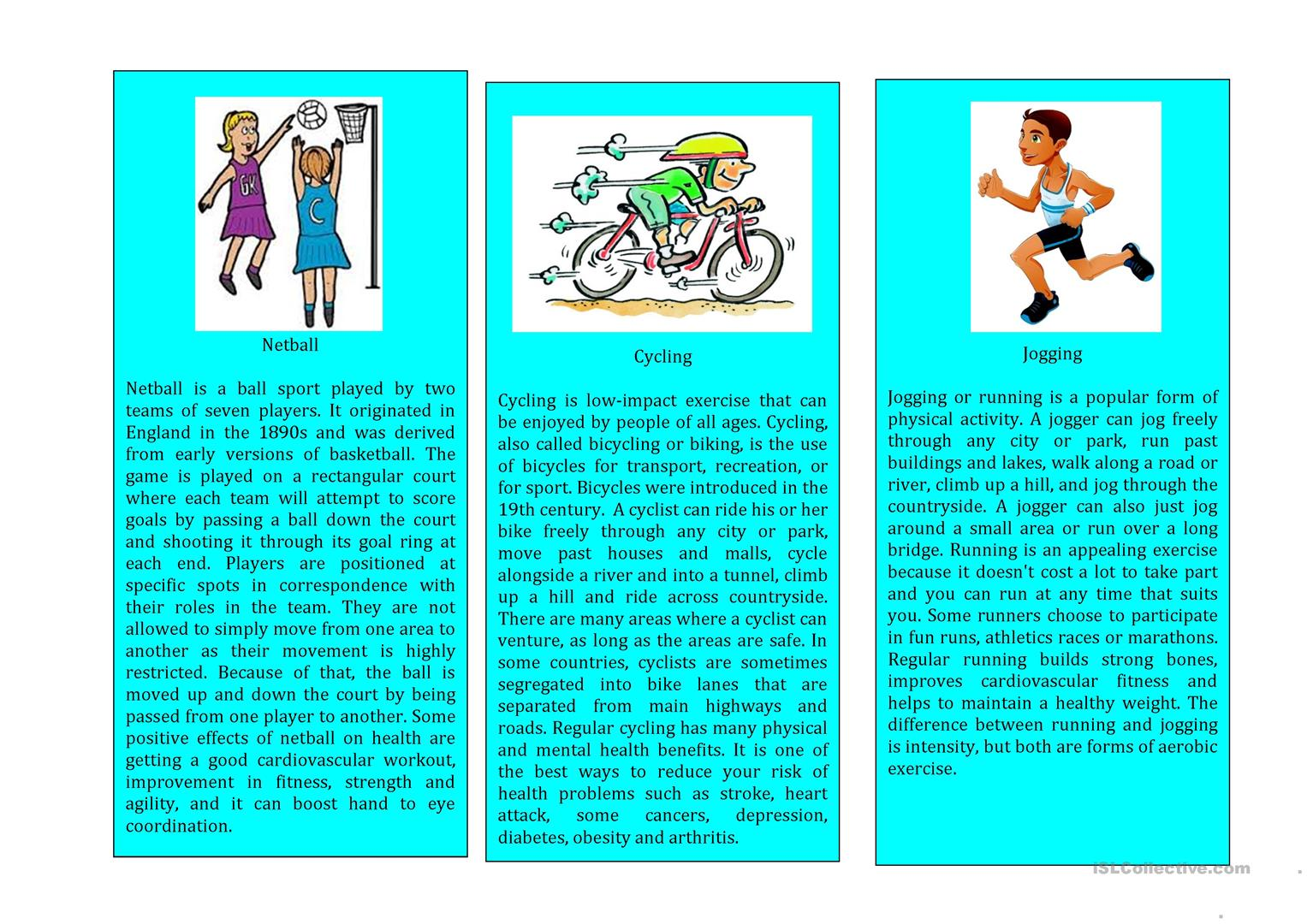 Sports Cards Series Worksheet