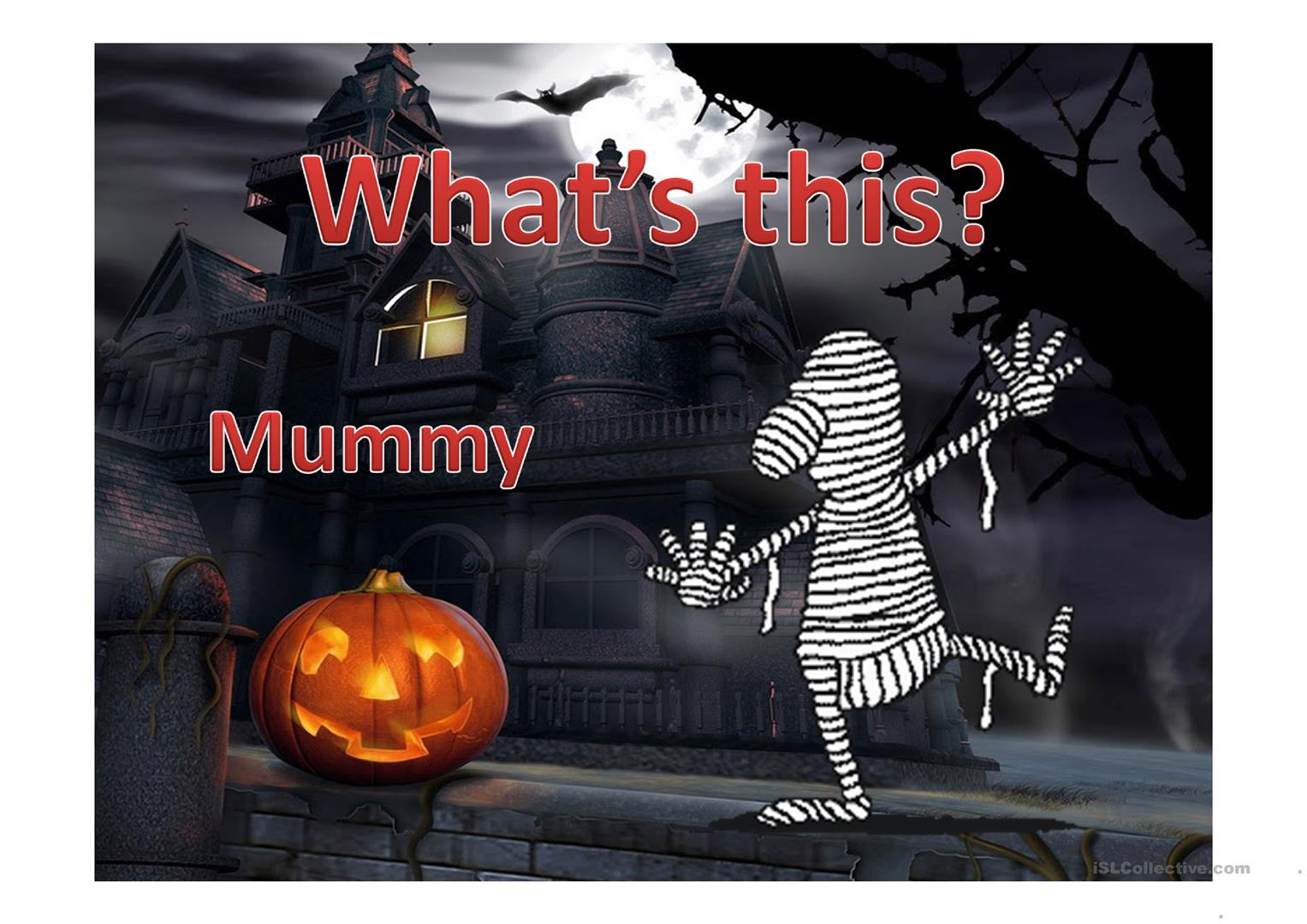 Halloween Vocabulary And Game Worksheet