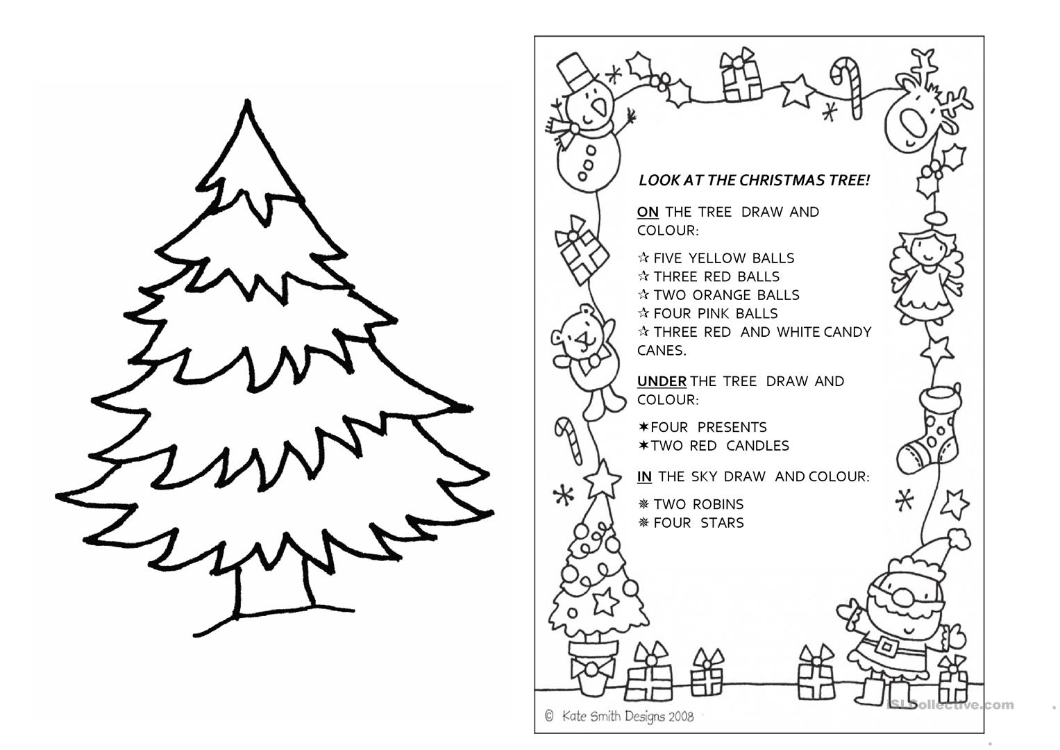 Religious Christmas Worksheet For Kindergarten