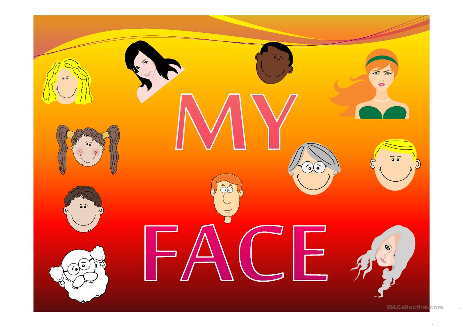 My Face Worksheet