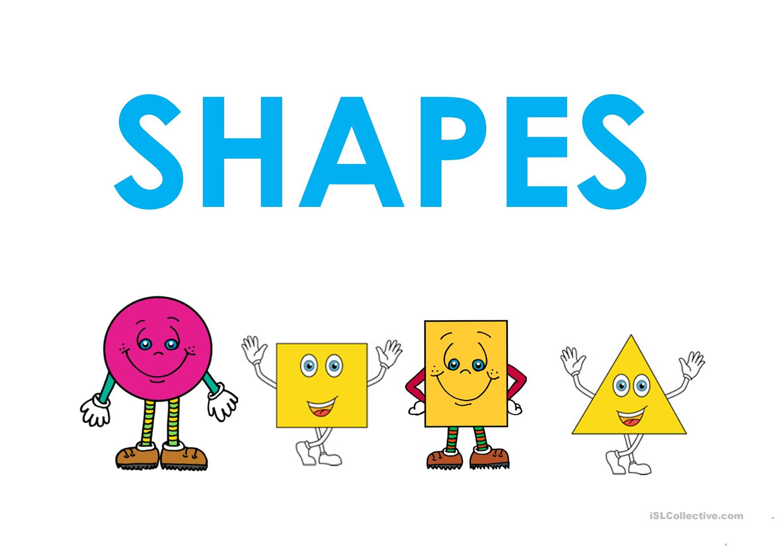Basic 2d Shapes And Their Properties Worksheet