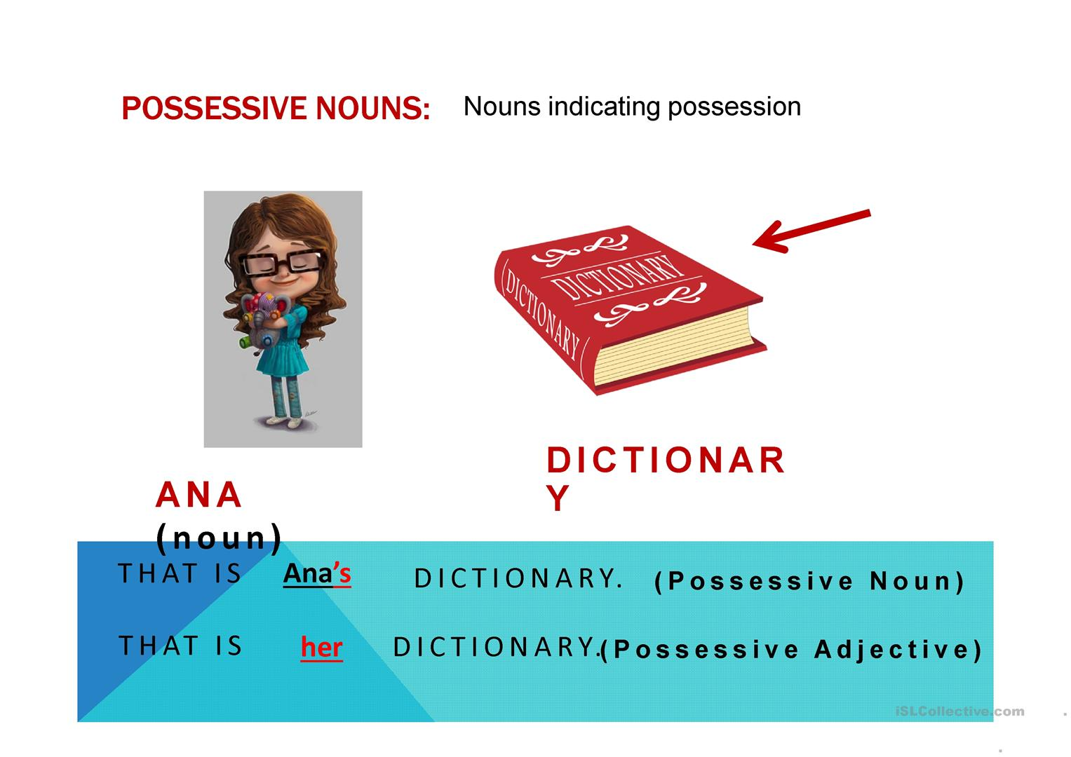 Possessive Nouns Worksheet Doc