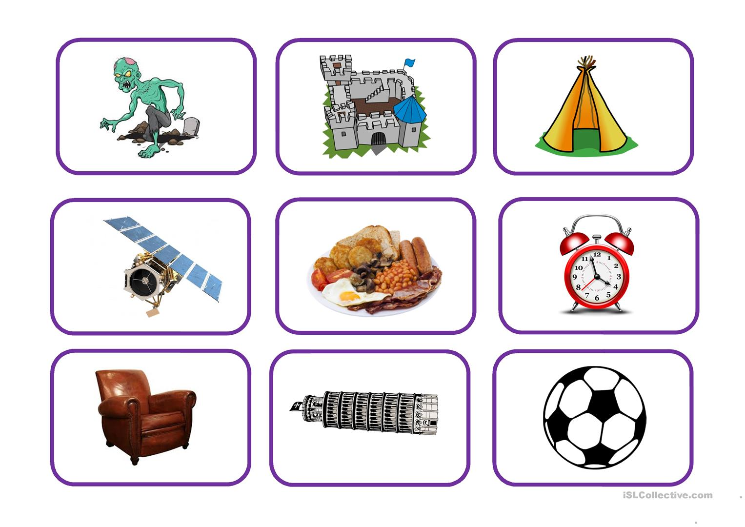 Picture Story Card Pack Worksheet
