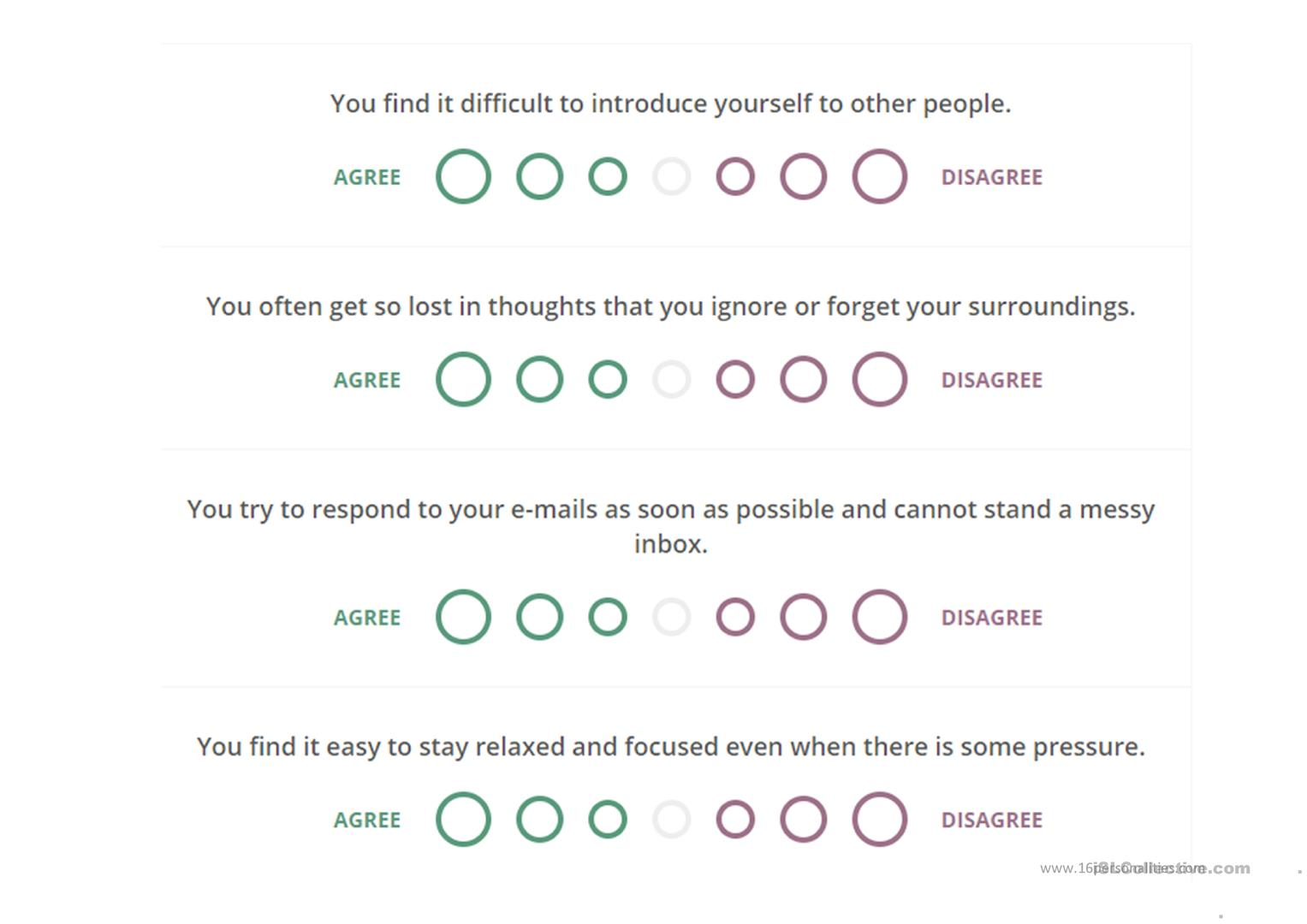 Short Myers Briggs Personality Test