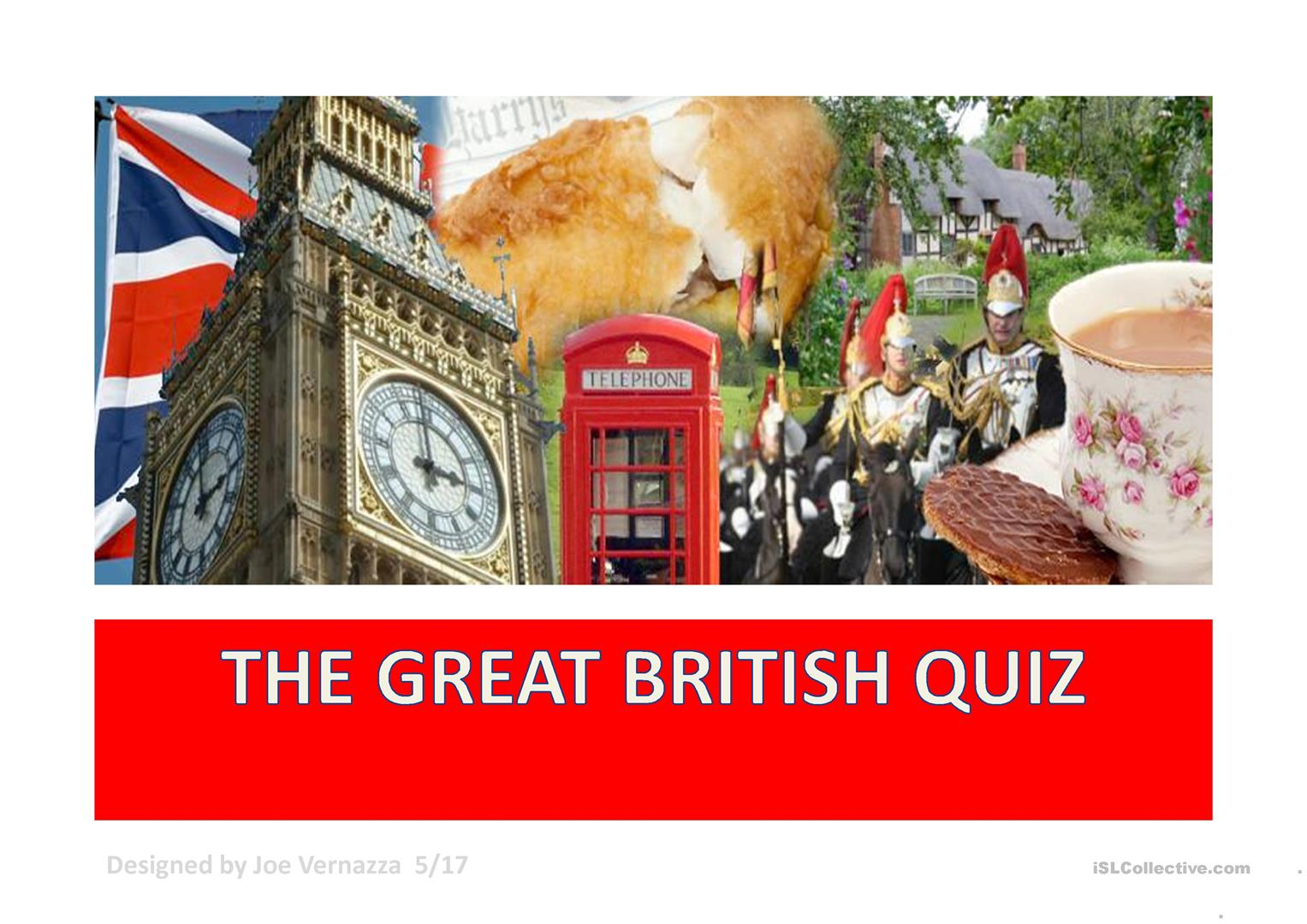 Uk Pop Culture Quiz