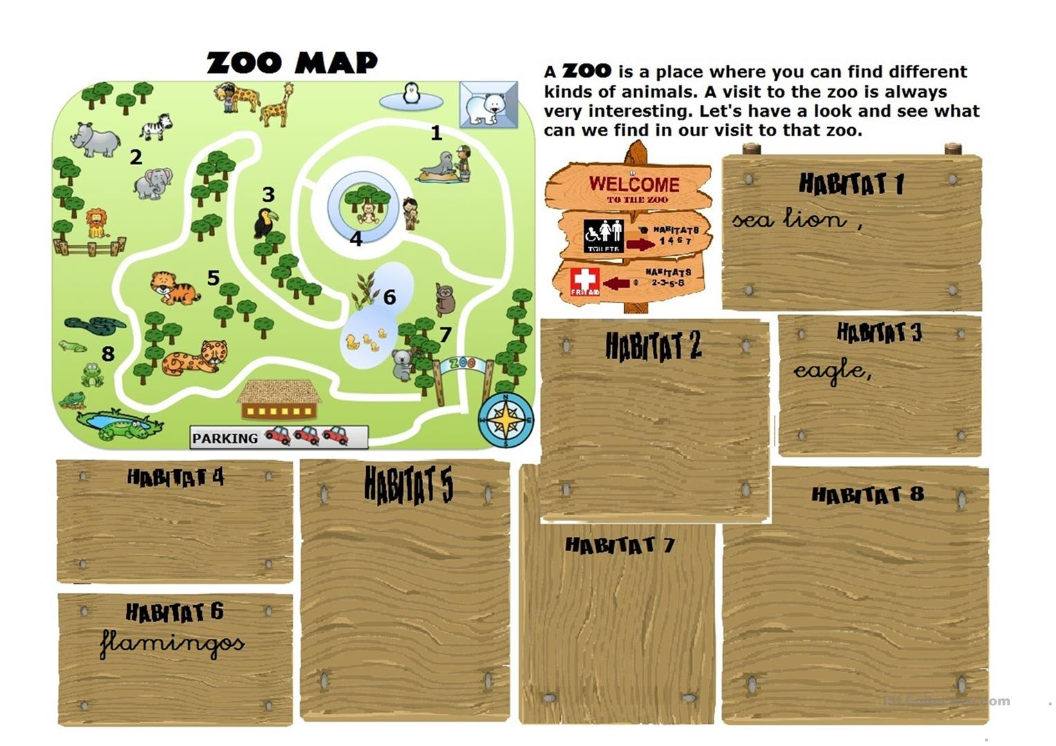 The Zoo Map