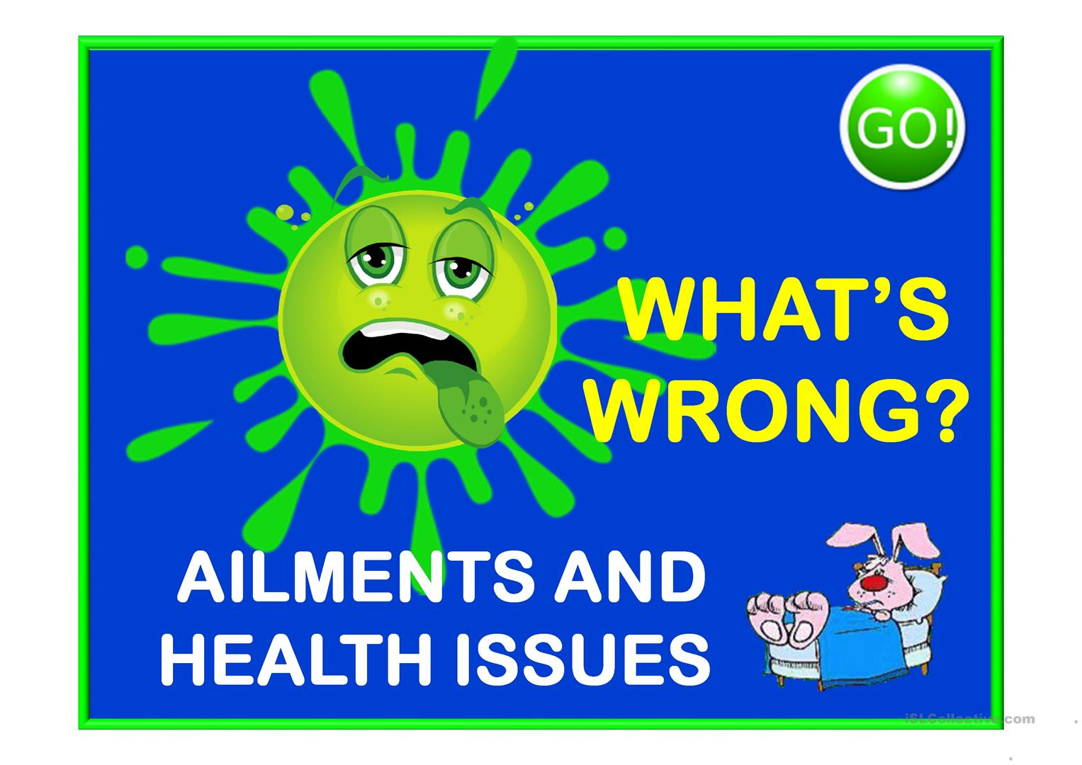 What S Wrong Ailments And Health Issues