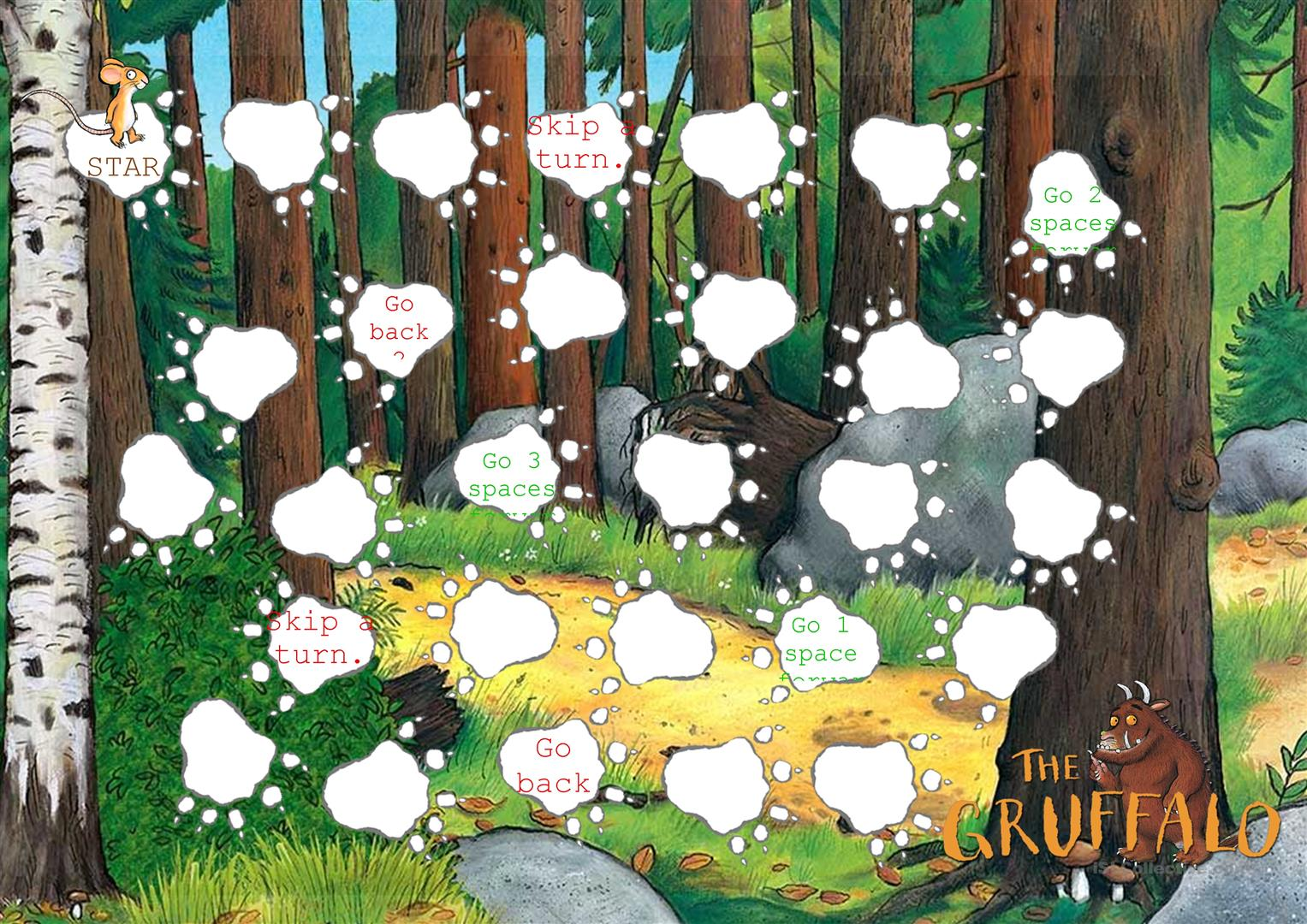 Finding The Gruffalo Part 1