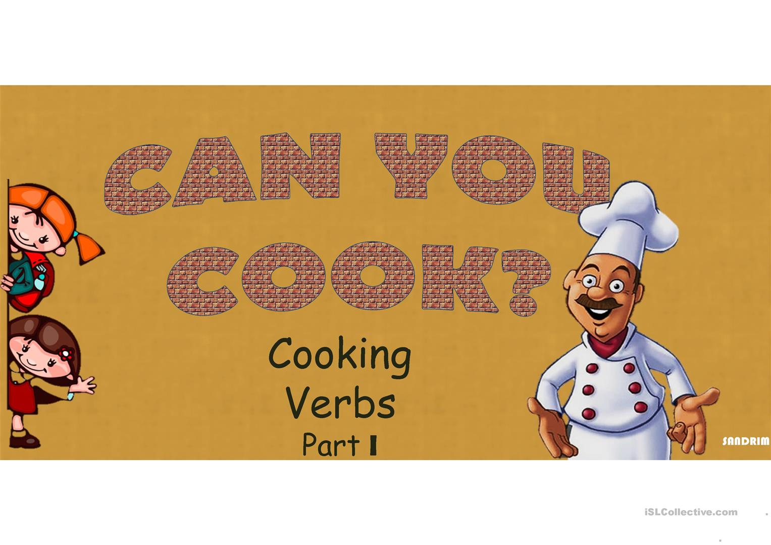 Food Cooking Verbs