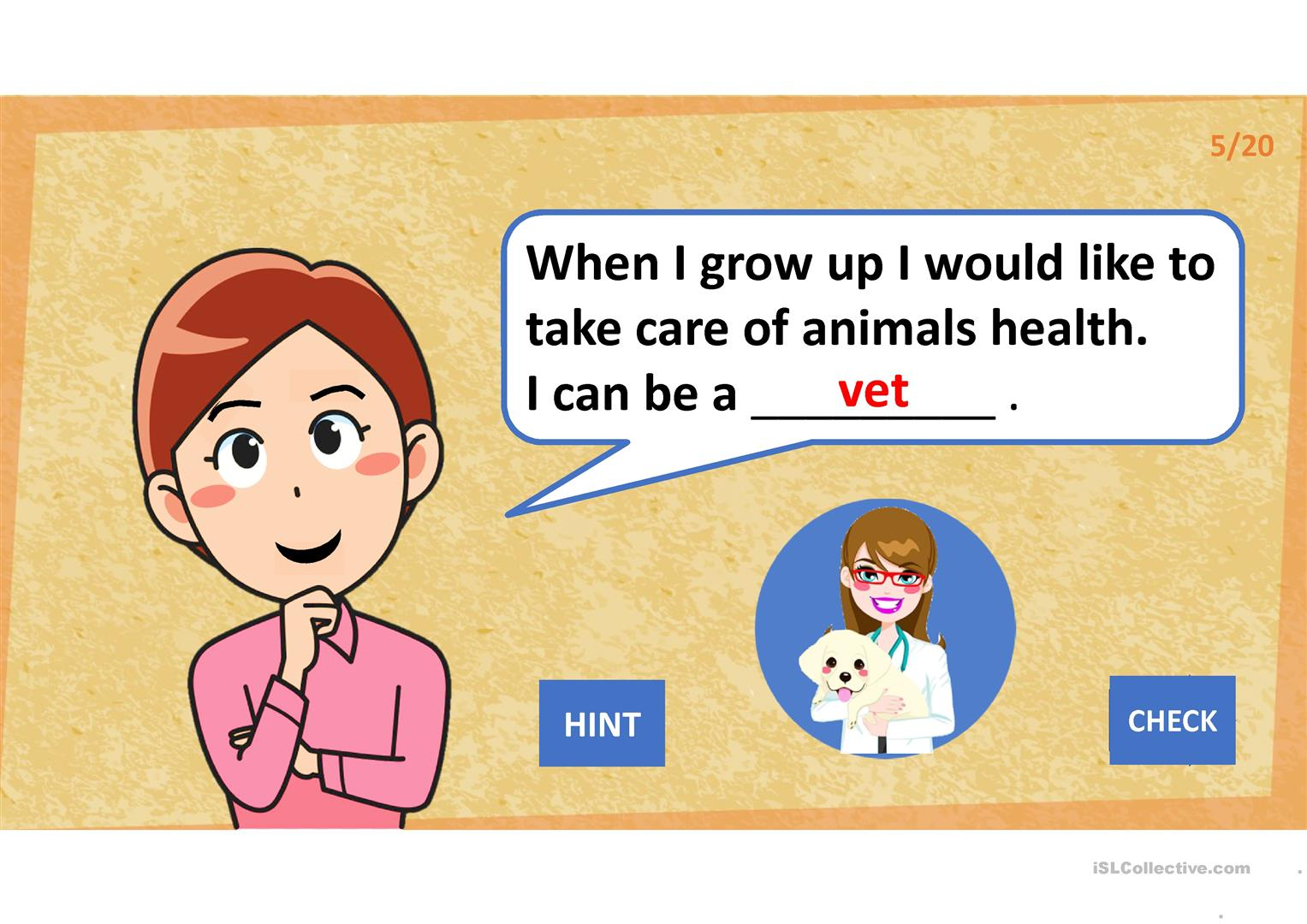 What Can I Be When I Grow Up Worksheet