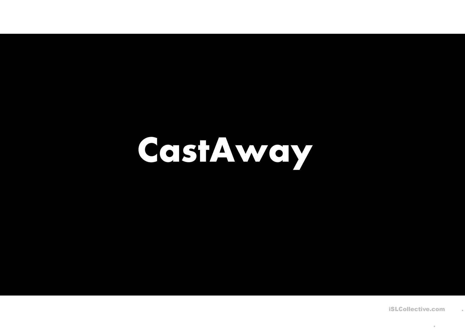 Second Conditional Castaway Movie Trailer Answers And