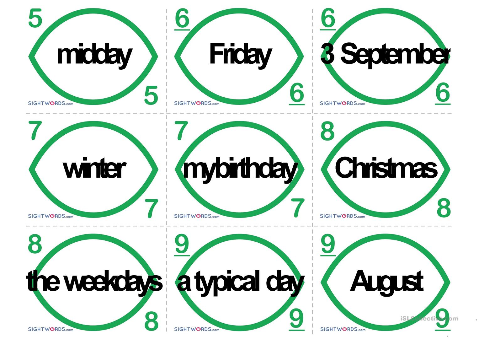 Uno Prepositions Of Time Time Prepositions Worksheet